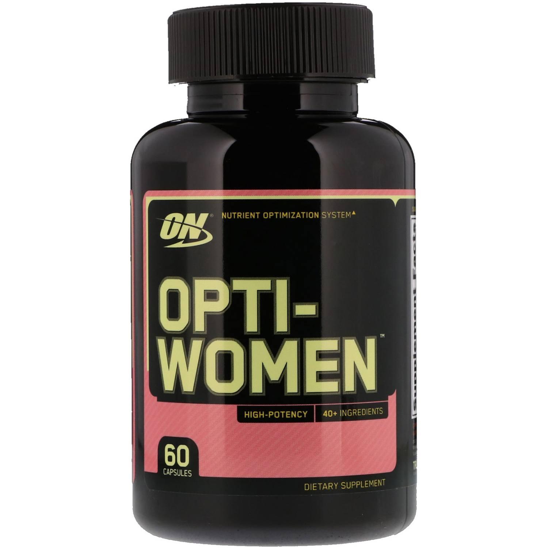 Optiwoman Multivitaminico Mulheres Optimum Nutrition 60 caps