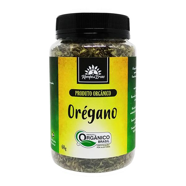 Orégano PURO desidrat Potão de 60 g - Orgânico e Certificado