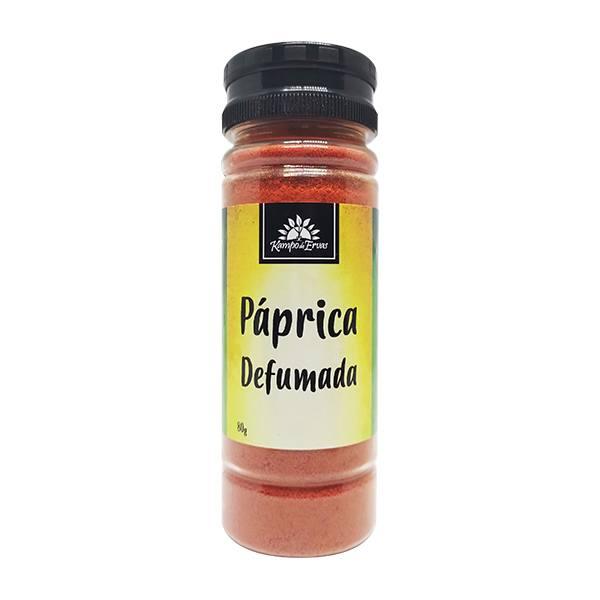 Páprica Defumada 100 % Natural Kampo de Ervas Frasco com 80g