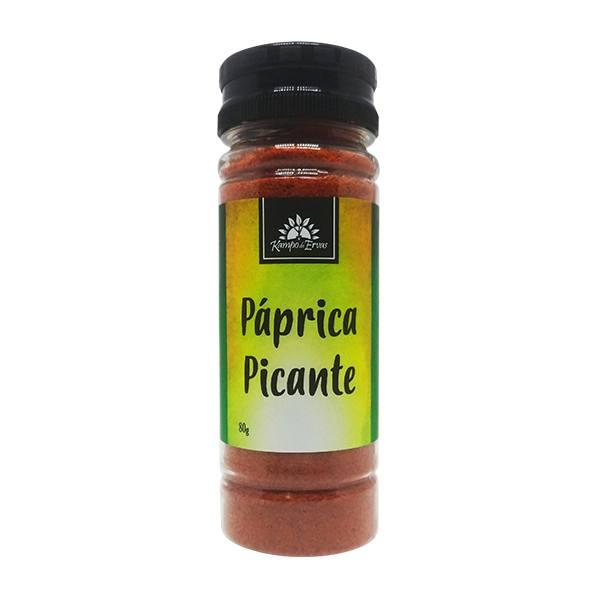 Páprica Picante 100 % Natural 80 g - Kampo de Ervas