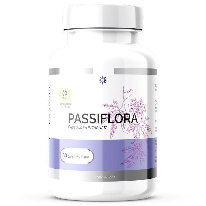 Passiflora 500mg 60 Cápsulas