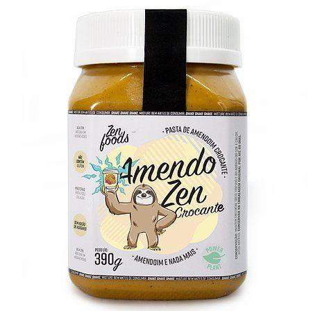 Pasta Amendoim Crocante Zenfoods 390g