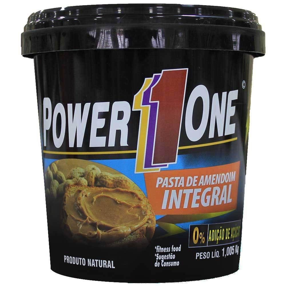 Pasta De Amendoim Integral 1Kg Tradicional Power 1 One