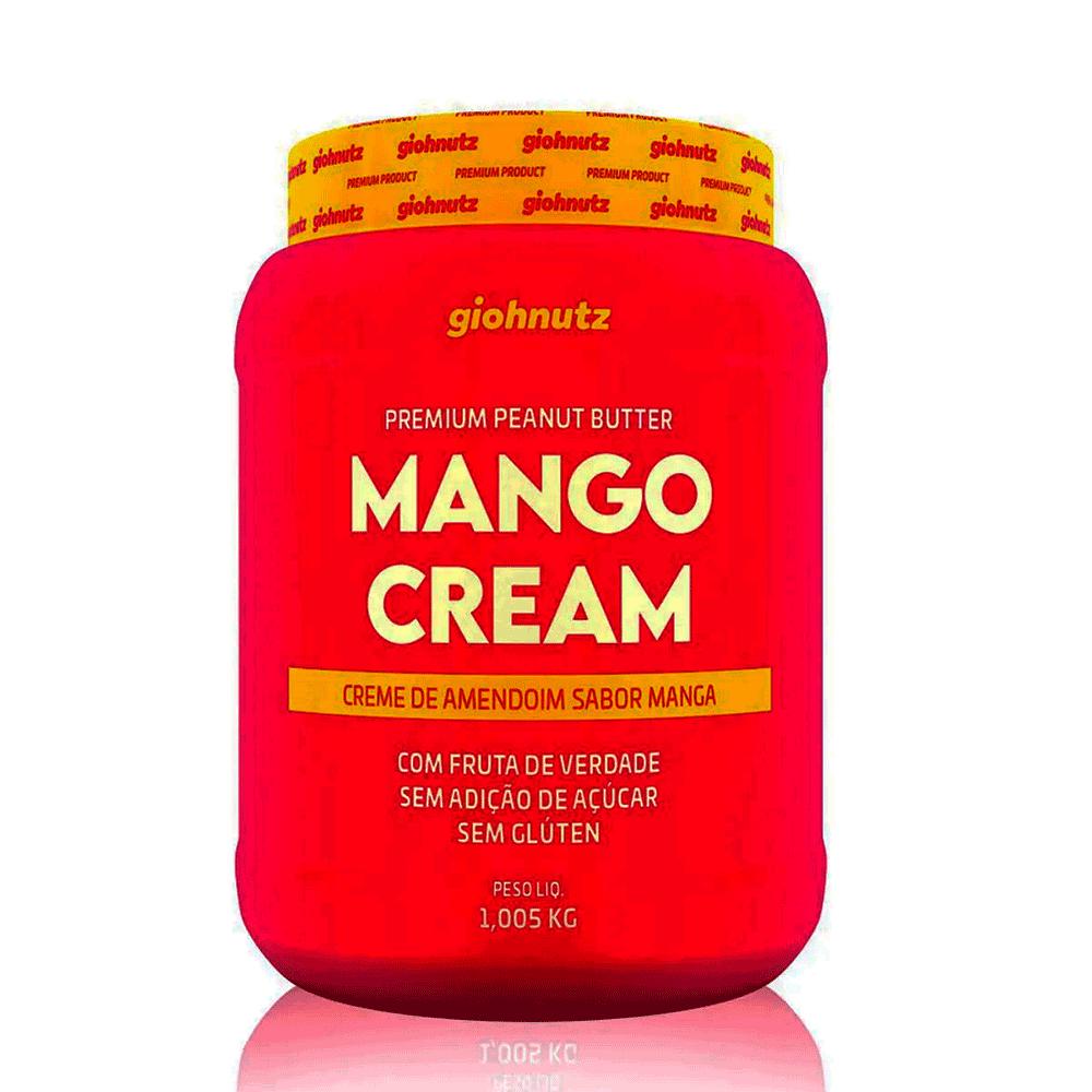 Pasta de Amendoim Sabores - Mango Cream 1005g Giohnutz