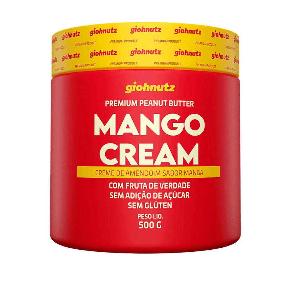 Pasta de Amendoim Sabores - Mango Cream 500g Giohnutz