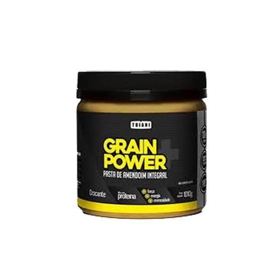 Pasta De Amendoin Grain Power Integral Crocante 1010Gr Thiani