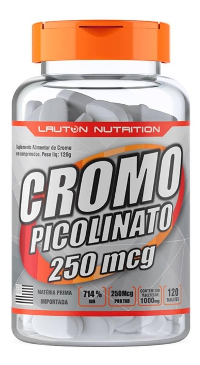 Picolinato De Cromo 120 Tabs 1000Mg Lauton Nutrition