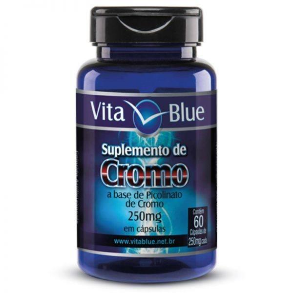 Picolinato De Cromo – 250Mg – 60 Cápsulas