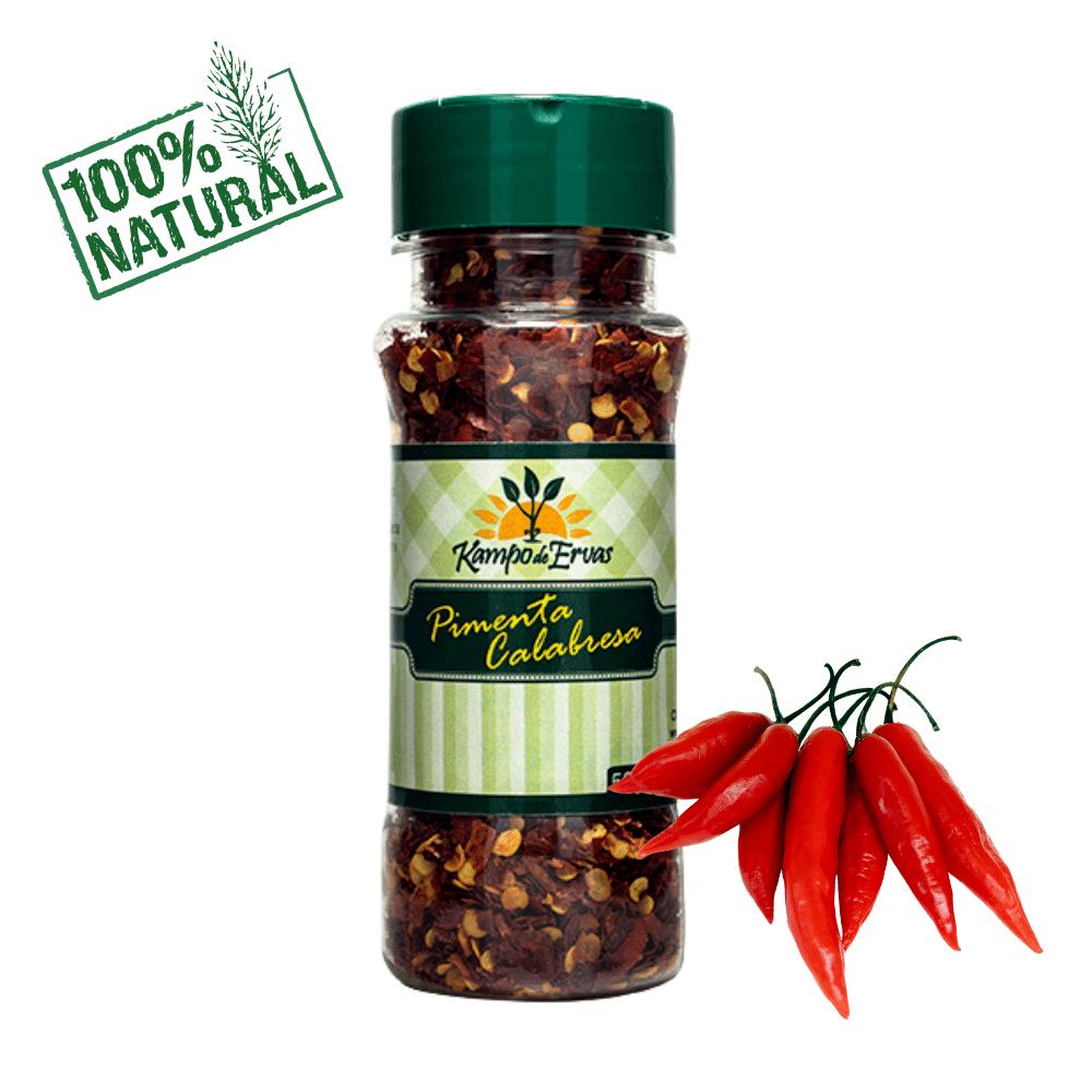 Pimenta calabresa PURA 100 % Natural 50 g Kampo de Ervas