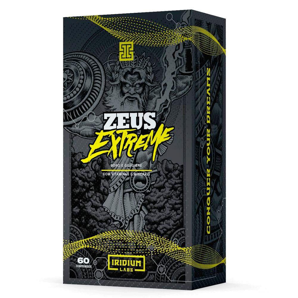 Pré-Hormonal Zeus Extreme 60 Comps Iridium Labs