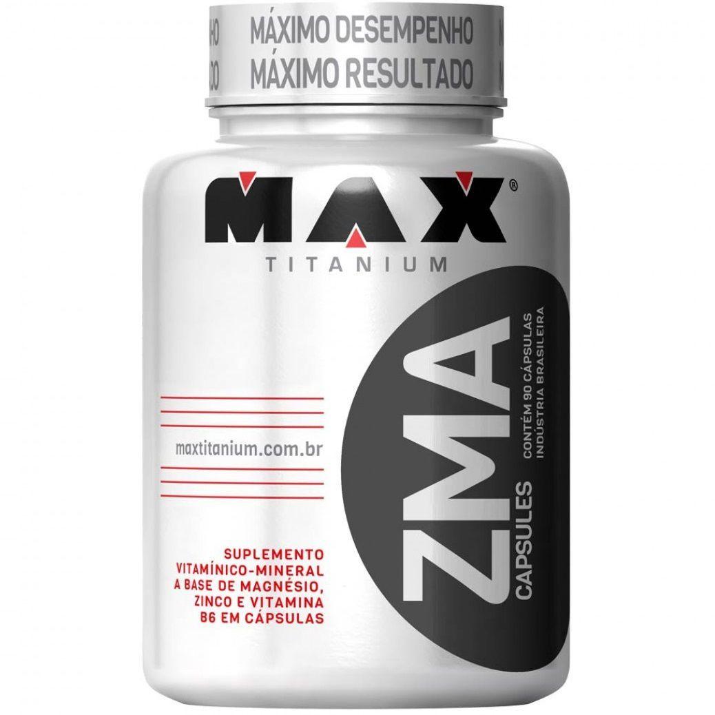 Pré-Hormonal Zma 90 Cápsulas Max Titanium