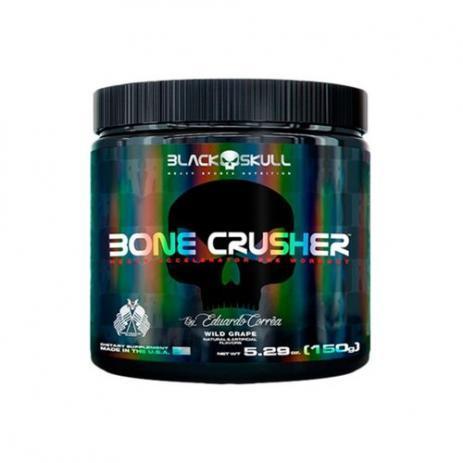 Pré-Treino Bone Crusher 150G - Wild Grape Black Skull