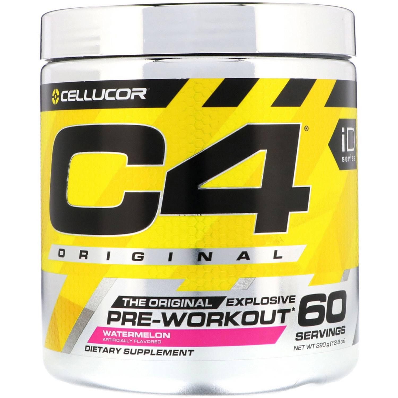 Pre-Treino C4 Cellucor 30 Porções Melancia