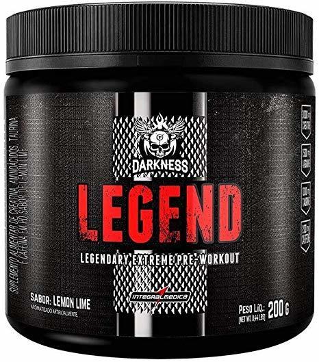 Pré Treino Darkness Legend 200Gr Lemon Lime Integralmedica
