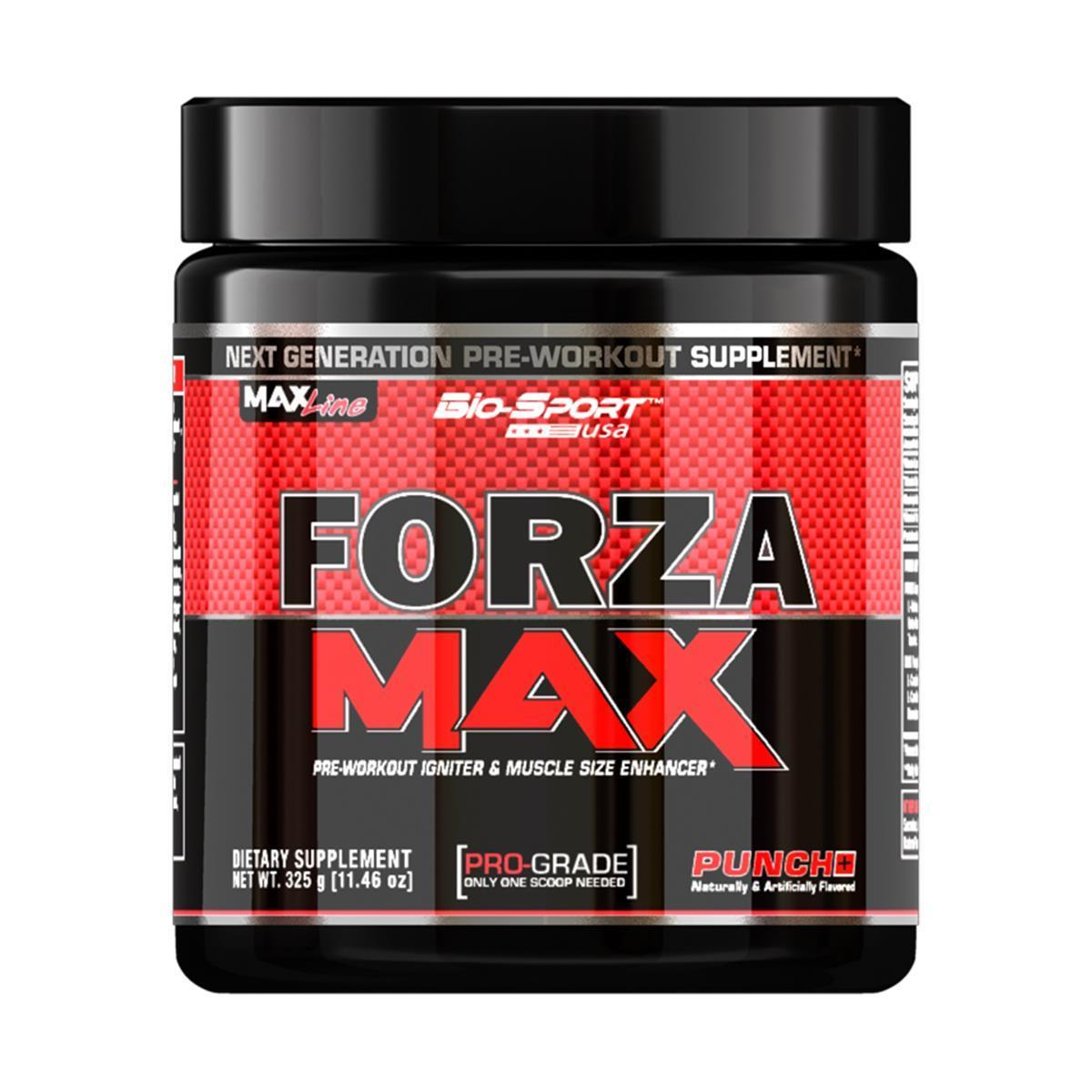 Pré-Treino Forza Max 330G - Bio Sport
