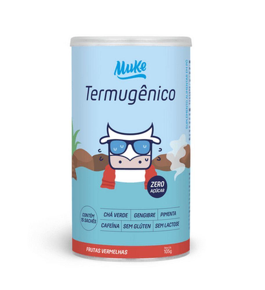 PRÉ-TREINO TERMOGÊNICO - TERMUGÊNICO MUKE - FRUTAS VERMELHAS