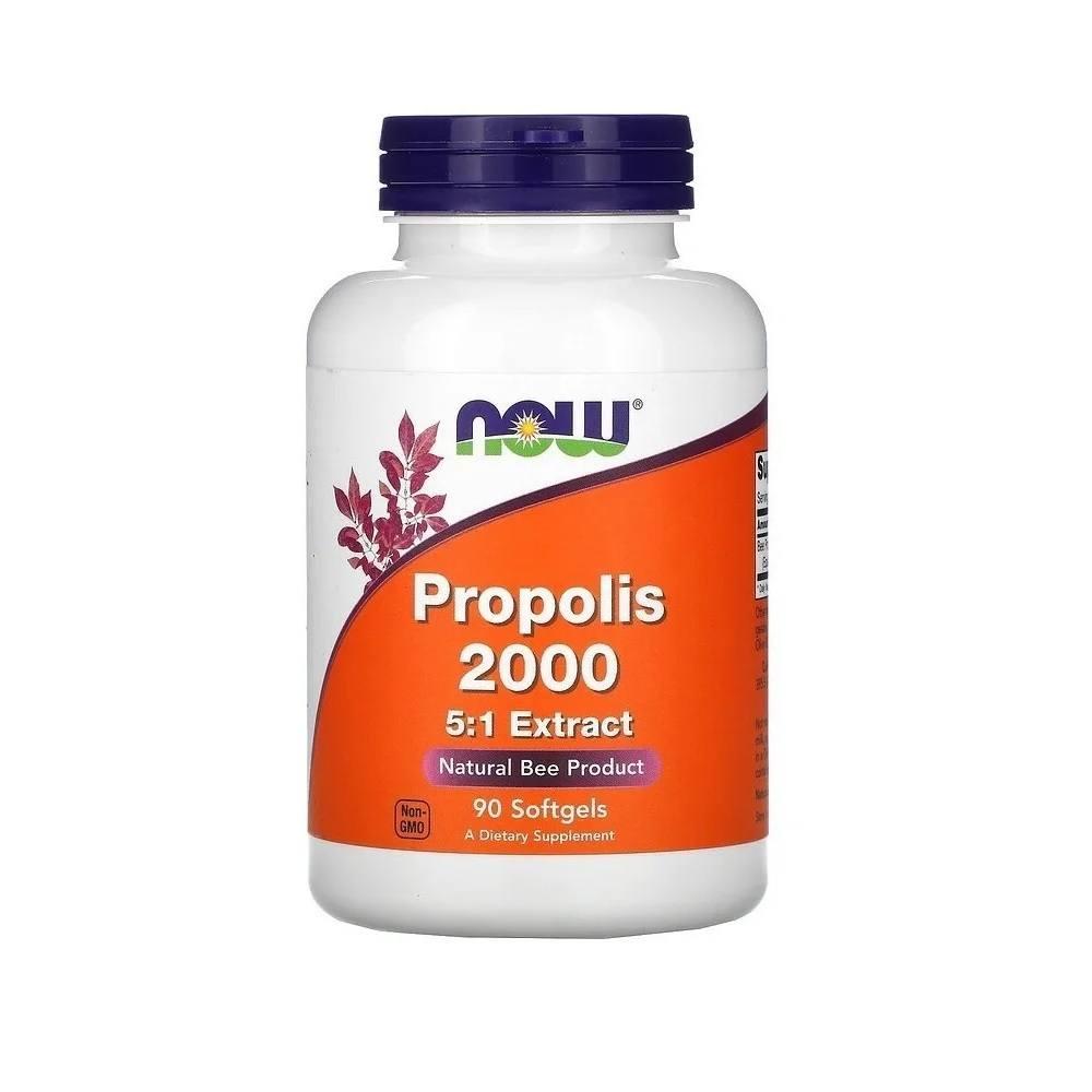 Própolis 2000 mg 5:1 Extract 90 Softgels Now Foods
