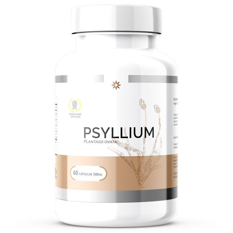Psyllium 500mg 60 Cápsulas