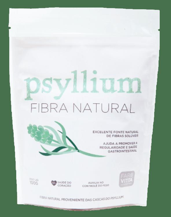 Psyllium Fibra Natural 100g - Favoritta