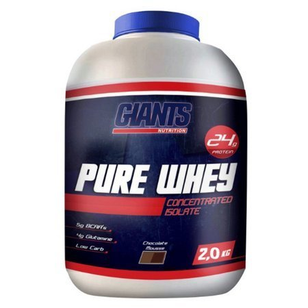 Pure Whey 2Kg Chocolate  - Giants Nutrition