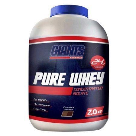 Pure Whey 2Kg Morango  - Giants Nutrition