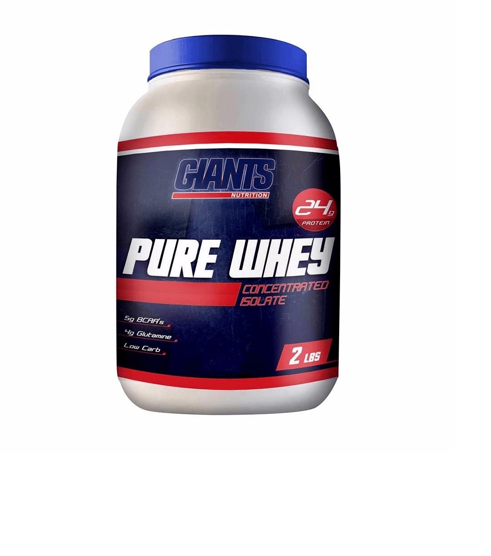 Pure Whey 900G Morango - Giants Nutrition