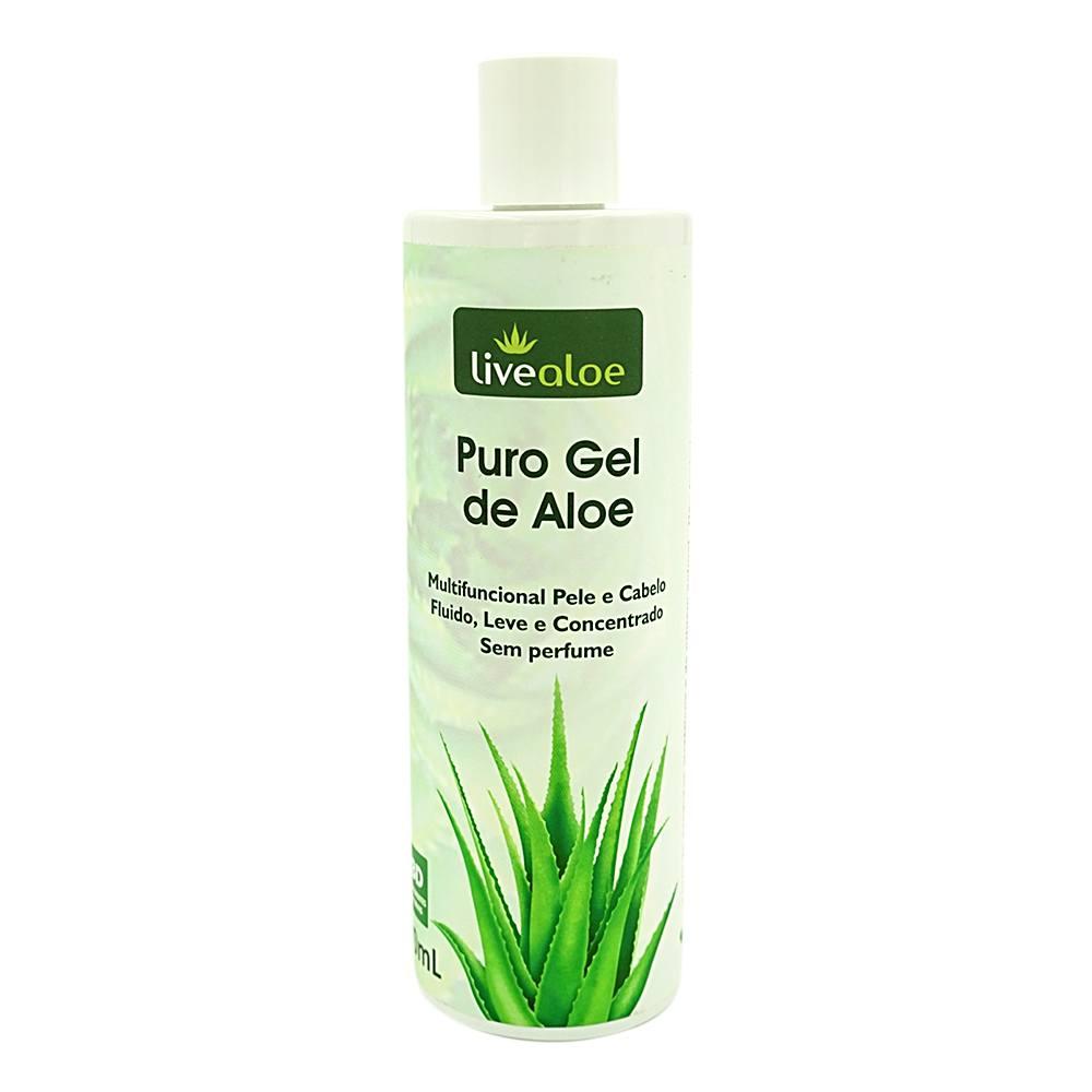 Gel - Pele e Cabelo Puro Gel de Aloe 500 mL