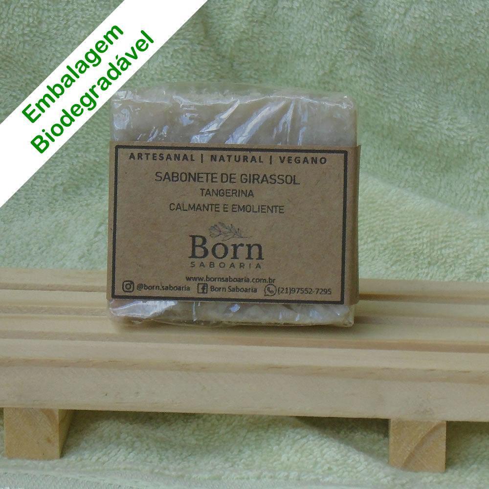 Sabonete Natural e Vegano - Girassol - Born Saboaria