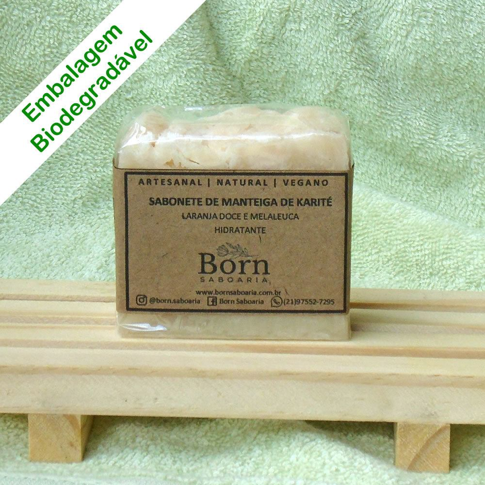 Sabonete Natural e Vegano - Manteiga de Karité - Born Saboaria