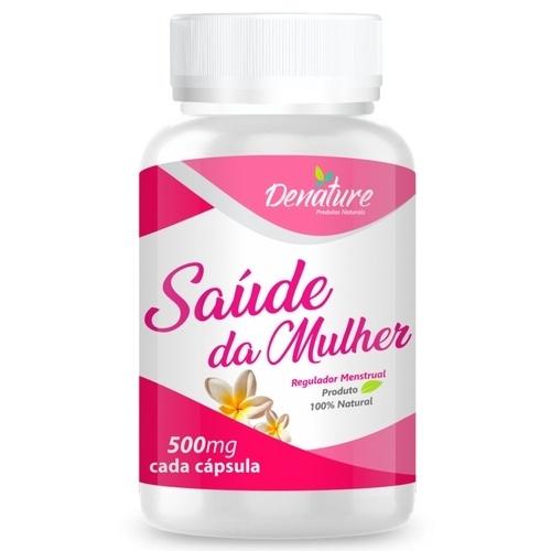 Saúde Da Mulher - 100 Cápsulas 500mg