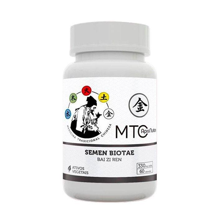 Semen Biotae - 330mg (60 caps) - BAI ZI REN - Linha MTC