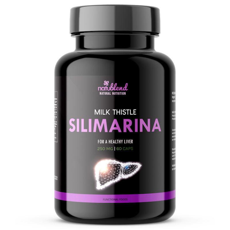 Silimarina - Cardo Mariano - 250mg 60 Cápsulas