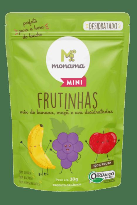 Snack Frutinhas Desidratadas 30g - Monama