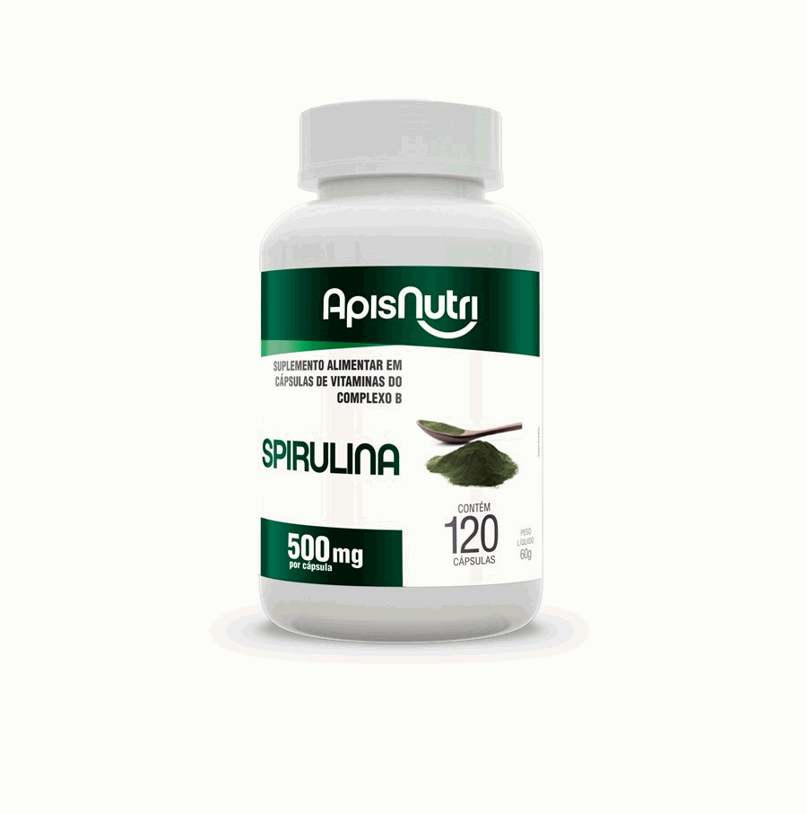 Spirulina 500mg (120 caps)