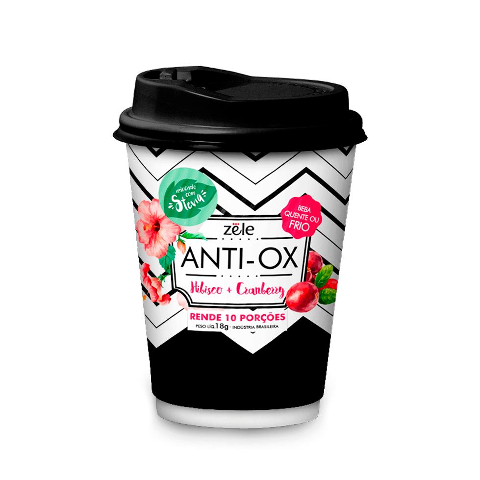 Suchá Anti-Ox Colágeno Mate Hibisco Cranberry Zële 10 doses
