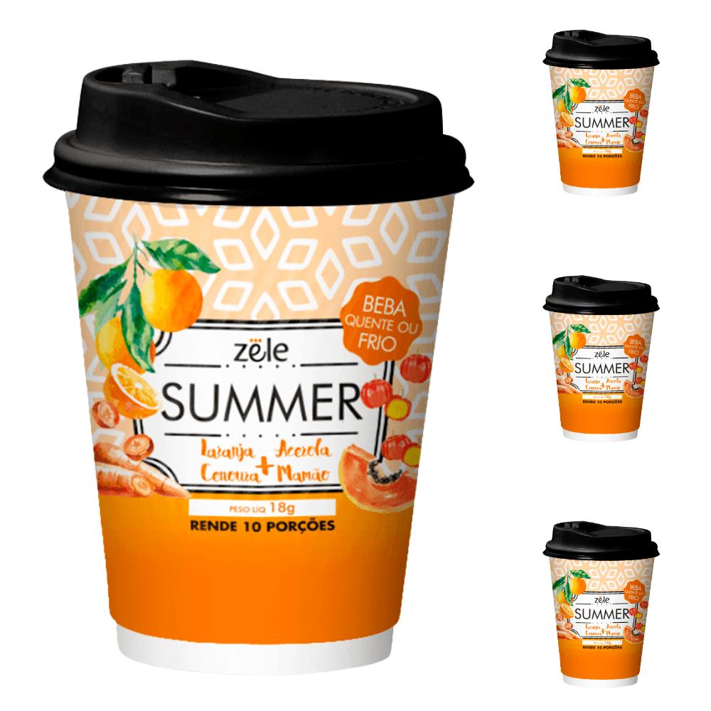 Suchá Summer Colágeno Beta-caroteno Melanina Zële 30 doses