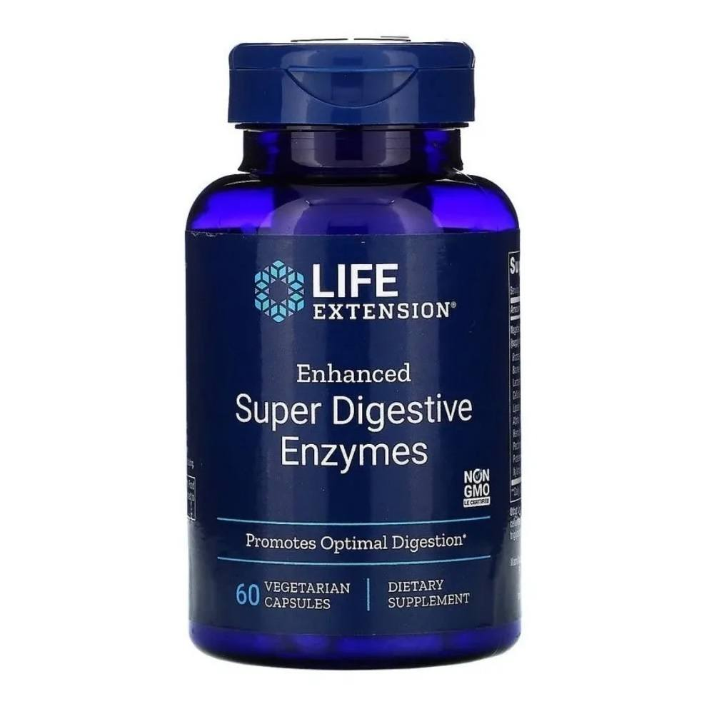 Super Digestive Enzymes 60 Cáps. Life Extension