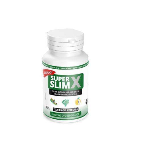 Super Slim X 60 Capsulas 640mg