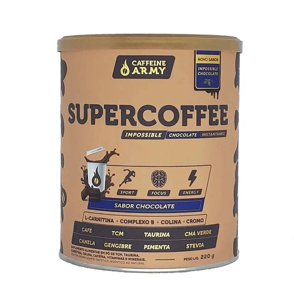 SUPERCOFFEE 2.0 CAFÉ PREMIUM - NOVO SABOR CHOCOLATE
