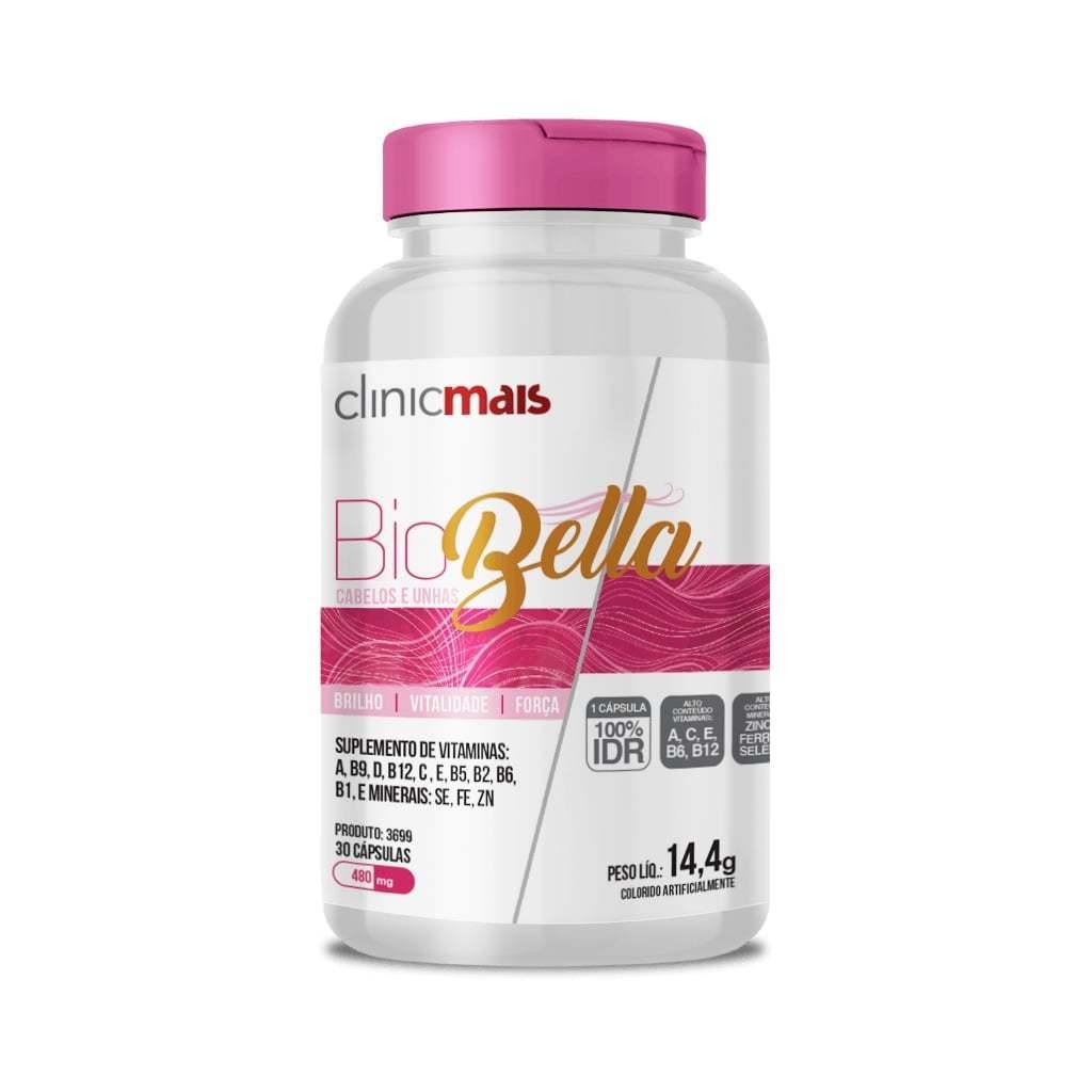 Suplemento BioBella 30 Cápsulas 480mg