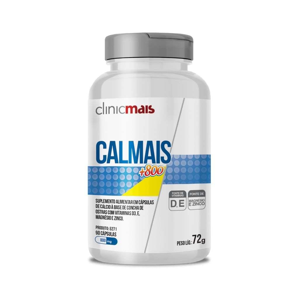 Suplemento Calmais+800 90 Cápsulas 800mg