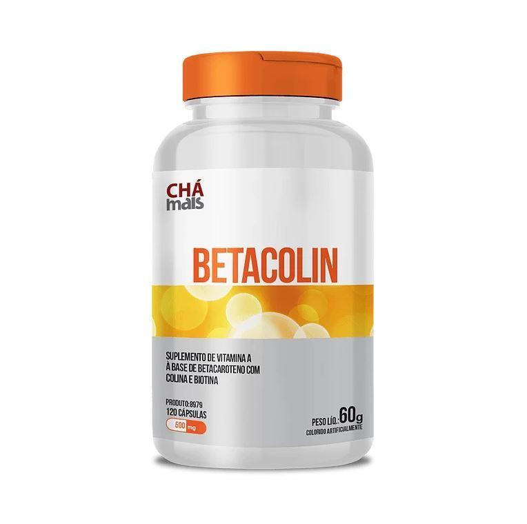 Suplemento de Vitamina A Betacolin 120 Cápsulas 500mg