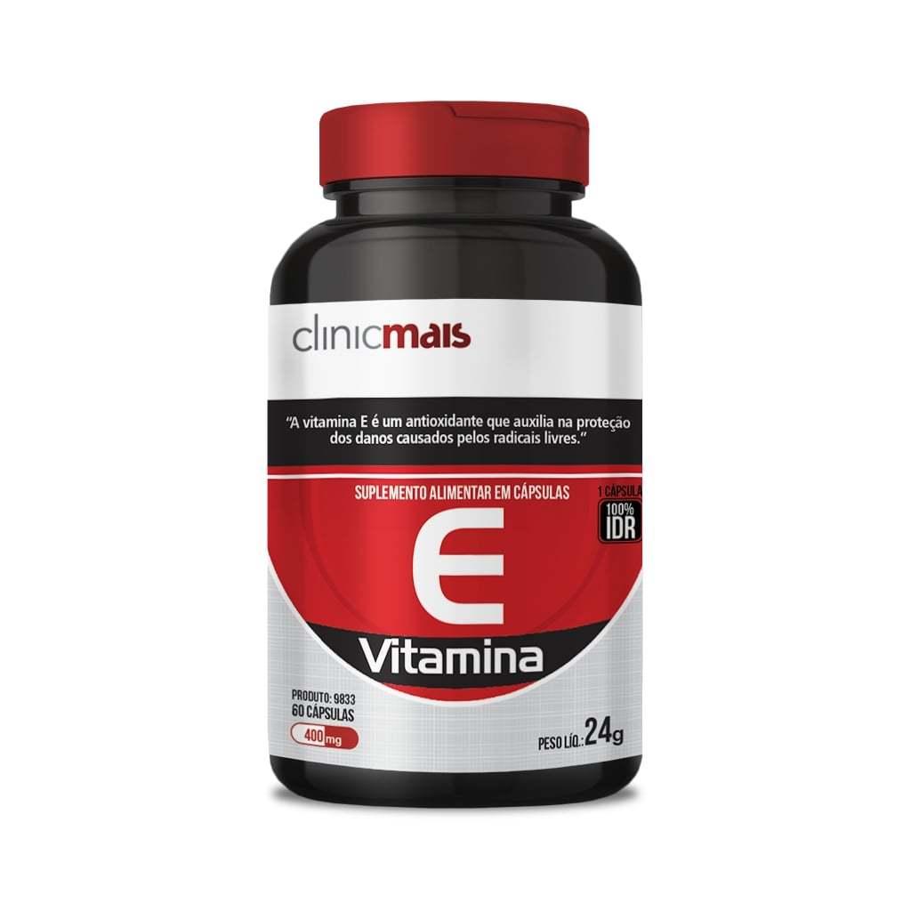 Suplemento de Vitamina E 60 Cápsulas 400mg