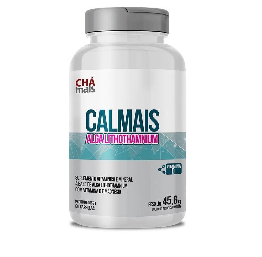 Suplemento Vitamínico Calmais Alga Lithothamnium 60 Cápsulas