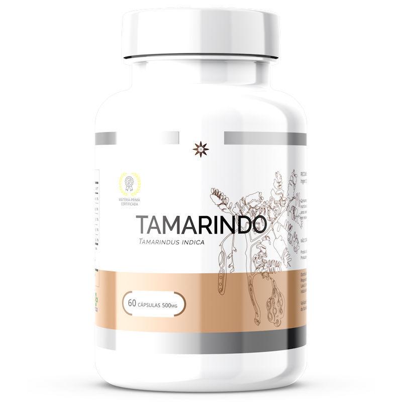 Tamarindo - Tamarindus Indica - 500mg 60 Cápsulas