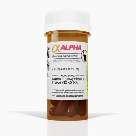 Termogênico Alpha Axcell Mutante 30 Caps 560Mg Power Supplements