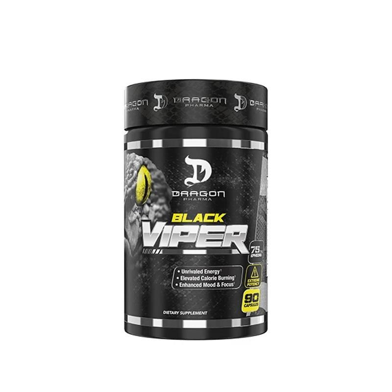 Termogenico Black Viper Dragon Pharma Original Importado 90caps