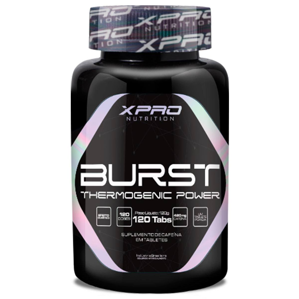 Termogênico Burst Thermogenic Power 120 Tabs Xpro Nutrition
