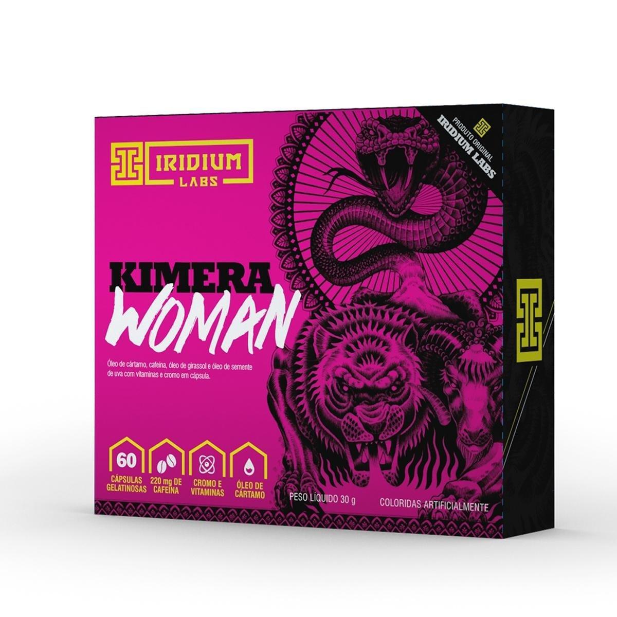 Termogênico Kimera Woman 60 Caps Iridium Labs