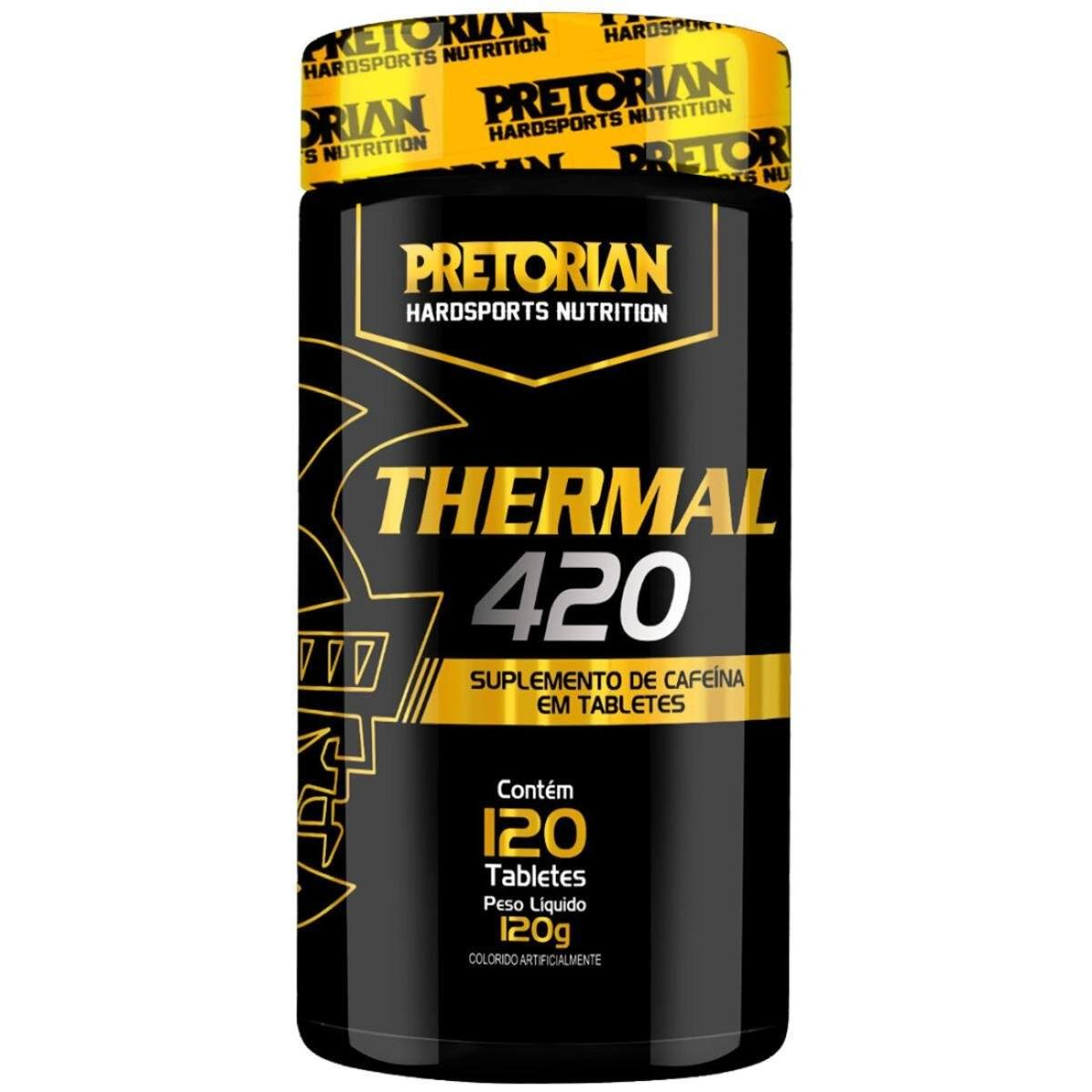 Termogênico Thermal 420 120 Tabs Pretorian